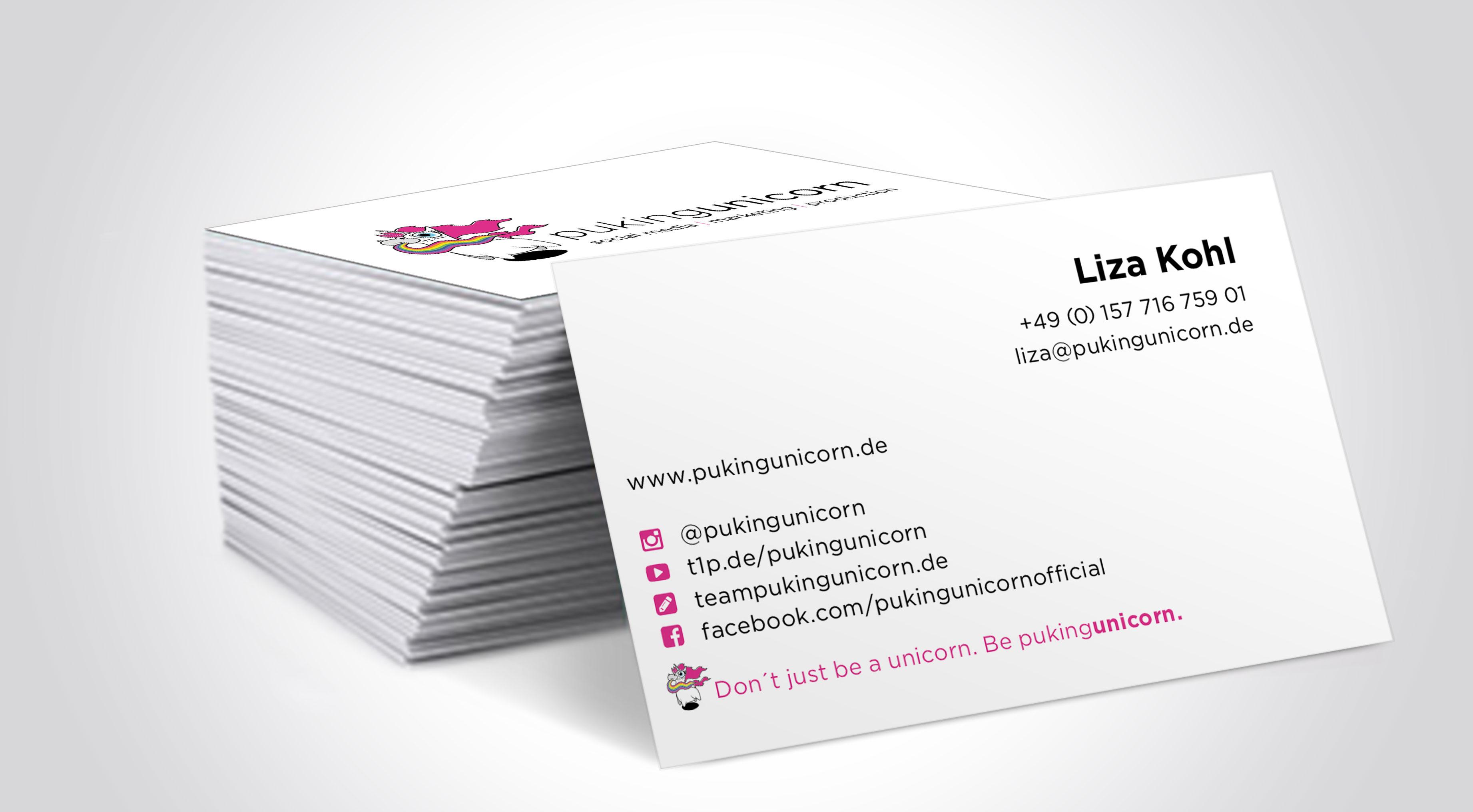 Liza Visitenkarten 2 Liza